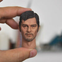 "Delicate Painting 1/6 The Walking Dead Daryl Dixon Head Sculpt Fit 12"" Figure"