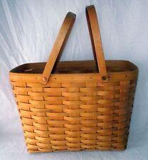 Basket Longaberger Cherished Memories Sweetheart 1999 Two Swinging Handles