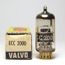 Valvo / Philips  ECC2000 / ECC 2000 Spezial-Röhre mit Gold-Pins, NOS