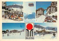 Les Orres  Hautes-Alpes Southeastern France Ski Resort Commune pm 1987 Postcard