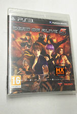 DEAD OR ALIVE  5  PS3 PLAYSTATION 3 PAL NUOVO SIGILLATO