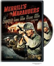 MERRILL'S MARAUDERS (Jeff Chandler) -  DVD - UK Compatible - sealed