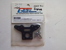 GPM Racing - GRAPHITE REAR SHOCK MOUNT TOWER - 4MM TH - Model GSN4030
