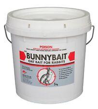 Pindone Oat Bunny Bait Rabbit Poison Kills Control  5kg