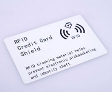 RFID Wireless Illegal Credit/Debit Card Reader Blocker Shieid Prevent electronic