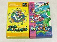 Super Mario World & Yoshi's Island Nintendo SFC Super Famicom SNES NTSC-J Japan