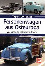 Book - Cars Eastern Block Dacia Zastava Syrena ZAZ Oltcit Velorex Personenwagen