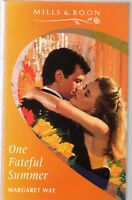 One Fateful Summer by Margaret Way (Mills & Boon paperback, 1995)