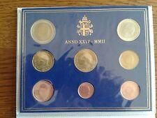 """vatican le premier coffret bu 2002 """"jean-paul II"""""""