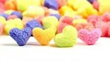 1 Cu Ft Colorful Hearts Packing Peanuts Ecofriendly Plant Based Void Fill