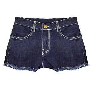 Ripped Vintage Ladies Waist Stretchy JEANS Denim SHORTS Sexy ICE Wash Hot Pants