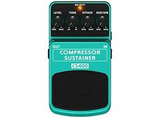 BEHRINGER CS400 EFFETTO COMPRESSORE SUSTAINER A PEDALE
