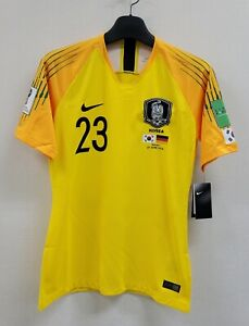 2018 WorldCup KOREA Home S/S No.23 Jo Hyeon-Woo Player Issue Match Germany Ver