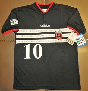 NEW ADIDAS USA DC UNITED ETCHEVERRY BOLIVIA SOCCER JERSEY FOOTBALL SHIRT MLS 90S