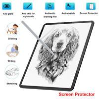 Paper Anti Glare Matte PET Screen Protector Cover for iPad pro 9.7 11 10.5 12.9