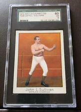 1910 John L Sullivan Mecca Card SGC 60 EX 5
