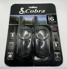 Cobra Micro Talk Walkie Talkie NEW 2-Way Radios 22 Channels CX105