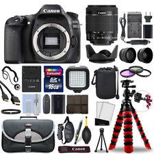 Canon Eos 80D Dslr Camera with 18-55mm Is Stm Lens + 16Gb Mega Accessory Bundle