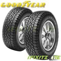 2 Goodyear Wrangler TrailRunner AT All-Terrain 31x10.50R15LT OWL M+S Truck Tire