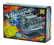 Haynes Automotive Build Your Own V8 Engine DIY Twin Overhead Cam Model Kit New