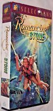 Romancing The Stone VHS cassette tape Micheal Douglas 20th Century Fox Selection