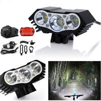 12000 LM  3X XM-L T6 LED Bicycle Bike Front Light Lamp Headlight Headlamp Torch