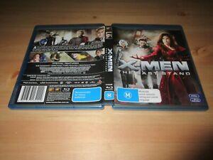 X-Men 3 - The Last Stand (Blu-ray, 2007) [Please Read]