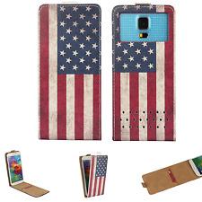 Handy Hülle | HUAWEI Ideos X3 | Flip Schutz Tasche | Flip XS USA
