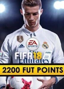 FIFA 18 - 2200 FUT Points PC - Key