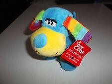 Elka Soft Stuffed Toy 15cm Rainbow Dog