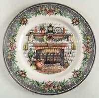 Royal Stafford CHRISTMAS EVE Dinner Plate 11142926
