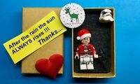 Christmas TOP STORMTROOPER  STAR  WARS  minifigure lego movie + BOX
