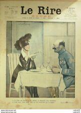 """REVUE """"LE RIRE ROUGE""""-1918-190-FAIVRE,ICART,NOB,DJILLIO,METIVET"""