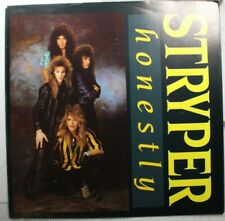 Rock Picture Sleeve 45 Stryper - Honestly / Sing-Along-Song On Enigma
