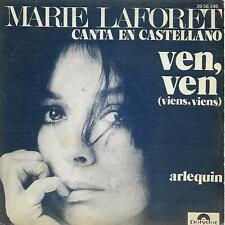 "MARIE LAFORET 7""PS Spain 1973 Ven, ven ( In Spanish )"