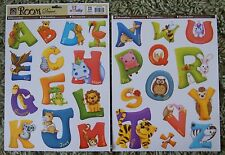 Childrens Kids Girls Boys Animals Alphabet Letter Wall Stickers Decals Bedroom