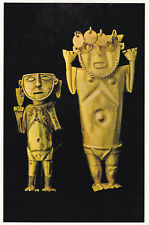 Idols of Gold Mochica Peru Postcard Unused VGC