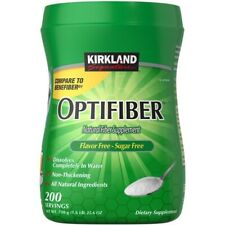 Kirkland Signature Optifiber 200 Servings - 25.6oz Natural Fiber Supplement