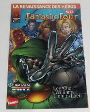 Fantastic Four # 5 [Heroes Reborn] VF Marvel France 1998