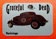 Grateful Dead Backstage Pass 1984 Vintage Classic Car Auto Automobile US Hot Rod