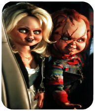 BRIDE OF CHUCKY MOUSE PAD 1/4 IN. TV HORROR MOVIE MOUSEPAD