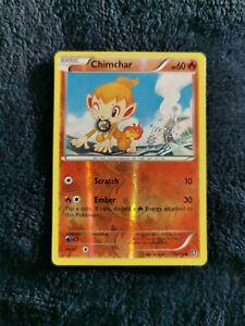 CHIMCHAR 18/114 | ⚫ | Reverse Holo | STEAM SIEGE | Pokemon Cards TCG | NM++