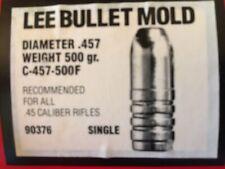 Lee Bullet Mold . C-457-500F