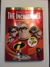 The Incredibles Dvd 2-Disc Set, Fullscreen, Collectors Edition Sealed Free Ship