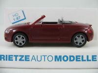 Rietze 10950 Audi TT Roadster (1999-2000) in braunrot 1:87/H0 NEU/OVP