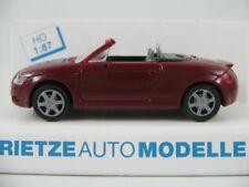 Rietze 10950 Audi TT Roadster (2000-2006) in braunrot 1:87/H0 NEU/OVP