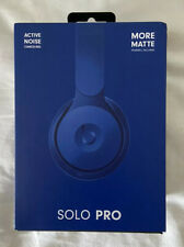Beats Solo Pro On Ear Wireless Headphones Dark Blue EXCELLENT  CONDITION!!!