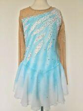 New Figure Ice Skating Twirling Dress Costume Adult M