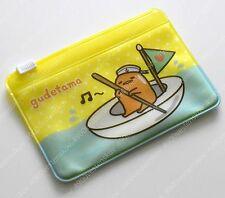 Sanrio lazy egg man gudetama sailing Card Holder zip bag