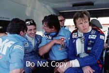 Ronnie Peterson & Patrick Depailler Tyrell F1 Portrait 1977 Photograph 1